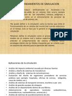 FUNDAMENTOS DE SIMULACION