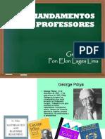 AULA 1 - Dez Mandamentos Para Professores
