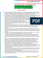 Current Affairs Pocket PDF - February 2018 by AffairsCloud