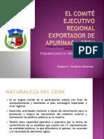 EL COMITÉ EJECUTIVO REGIONAL EXPORTADOR DE APURÍMAC -.pptx