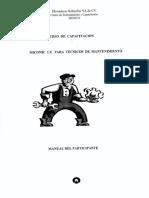 Schindler miconic lx curso de capacitacion