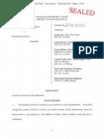 Federal indictment of state Rep. David Nangle