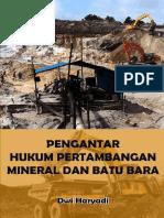 Pengantar hukum pertambangan mineral dan batu bara (1)