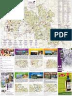 Carte touristique de la Drôme Provençale