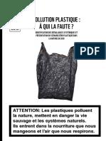 Rapport Pollution Plastique WWF