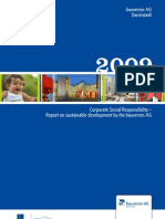CSR Report 2009 - bauverein AG (English)