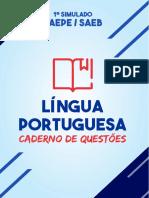 Caderno de Questões - 1º Simulado SAEPE - SAEB [Língua Portuguesa e Matemática].pdf