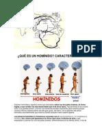 Prehistoria y Hominizacion