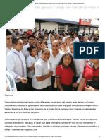 04-10-2019 Lleva Héctor Astudillo apoyos y obras por más de 50 mdp a Cruz Grande.