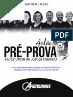 AULÃO Pré-Prova - Oficial de Justiça