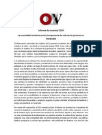 OVV Informe Niñez y Juventud 2019