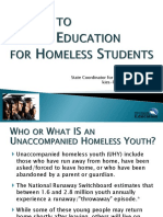 Access to Higher Education For Homeless Students - Michigan
