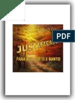 Justificado Para Ser Justo e Santo