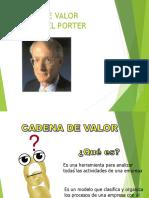 CADENA DE VALOR PORTER