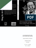 Di, Ming y Calderón, Alí (ed.) - Una soledad de cien años. Nueva poesía china 1916-2016