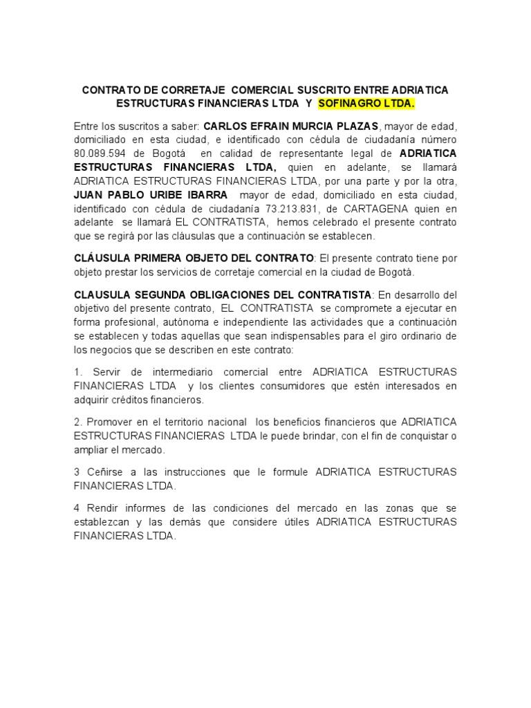 Dorable Plantilla De Contratista Independiente Inspiración ...