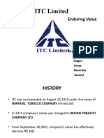 ITC Product Mix