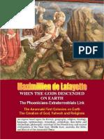 When the Gods Descended on Earth_ the Phoe - Maximillien de Lafayette