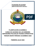 PLANIFICACIÓN FINAL TERCER GRUPO 2020