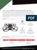 QDrone Data Sheet