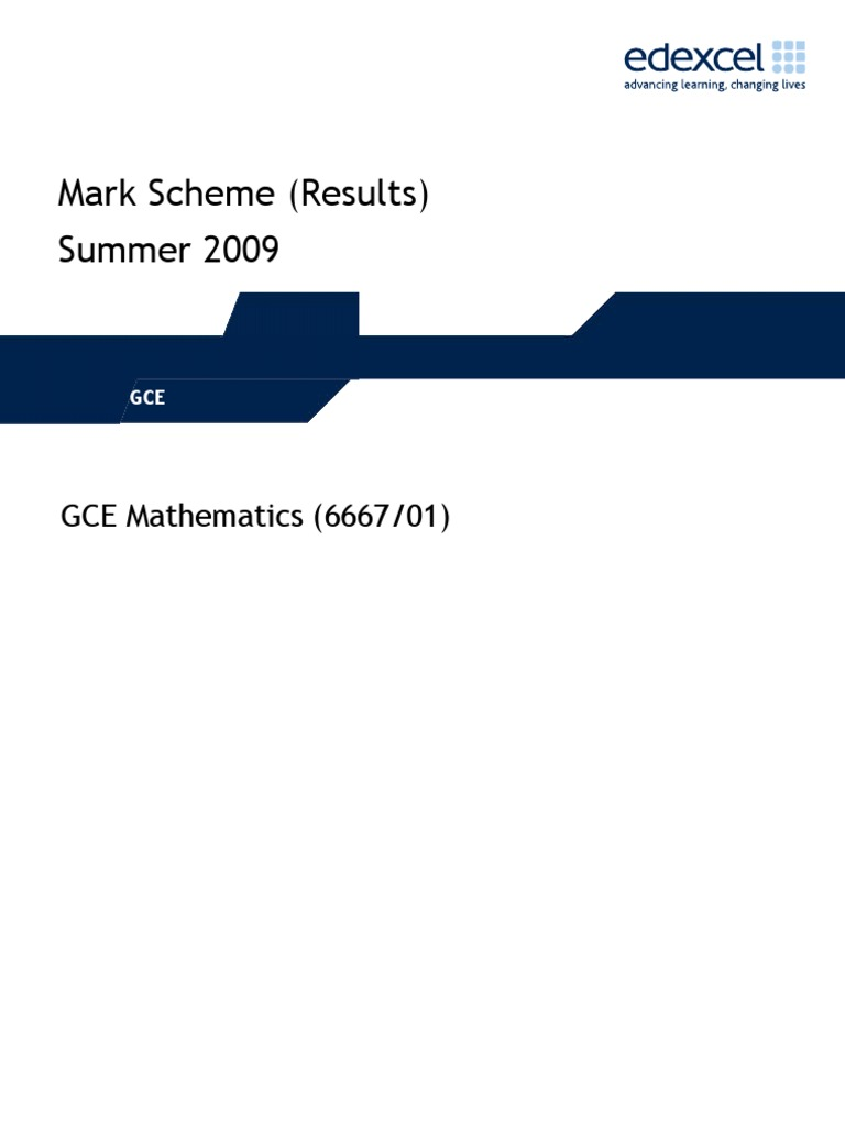 Edexcel – c2 june 2009 examsolutions.