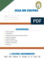 TEMA VII COSTEO DIRECTO UCB