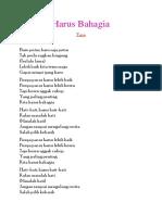 Lirik - Harus Bahagia.docx