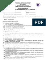 second quarter exam-questionnaire.docx