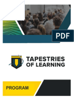 tapestries of learning program