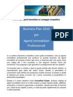 Business Plan 2010 Per Agenti Immobiliari Profession Ali