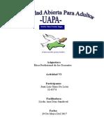Etica Prof. tarea 6, Juan Luis