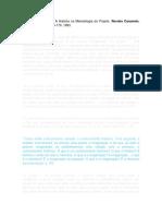 ARGAN, Carlo - A história da metodologia do projeto.docx