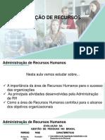 Aula Administração de Recursos Humanos