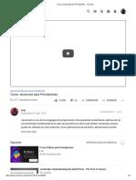 Curso Javascript para Principiantes - YouTube