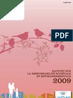 Rapport RSE 2009 LogiOuest