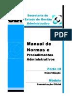 procedimentos administrativo