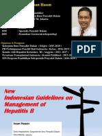 dr Irsan Hasan - Hepatitis B 2017
