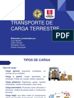 Grupo 5 Transporte de carga terrestre