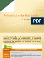 Psicologia da Ed-aula 1