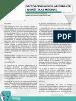 FENÓMENO DE COACTIVACIÓN MUSCULAR DURANTE CONTRACCIONES ISOMÉTRICAS MÁXIMAS.pdf