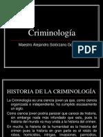 Historia Criminologia