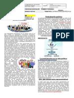 GUIA 01. PARTICIPACION DEMOCRATICA