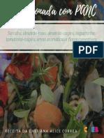 Macarronada com PANC (Planta Alimentícia Não Convencional)