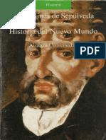 Gines de Sepulveda, Juan. - Historia del Nuevo Mundo [1987].pdf