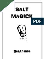 Salt Magick - SatAnanda