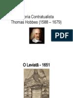 Teoria Contratualista - T Hobbes - Aula TGE 005