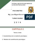 PSICOMETRIA - CAP 2 - MEDICION PSICOLOGICA - 2015