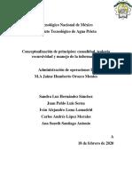 Investigacion Conceptos - causalidad, teología recursividad y manejo de la informacion.