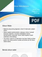 SIlicon Manufacture.pptx
