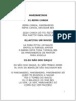 MARINHEIROS 01.REMA CANOA REMA CANOA, MARINHEIRO REMA CANOA, DEVAGAR BIS ESSA CANOA SÓ FOI FEITA PRA MARTIM PARA ANGOLA PDF